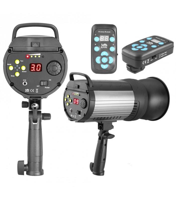 Mettle 400J Portable Studio Flash Head MS-400
