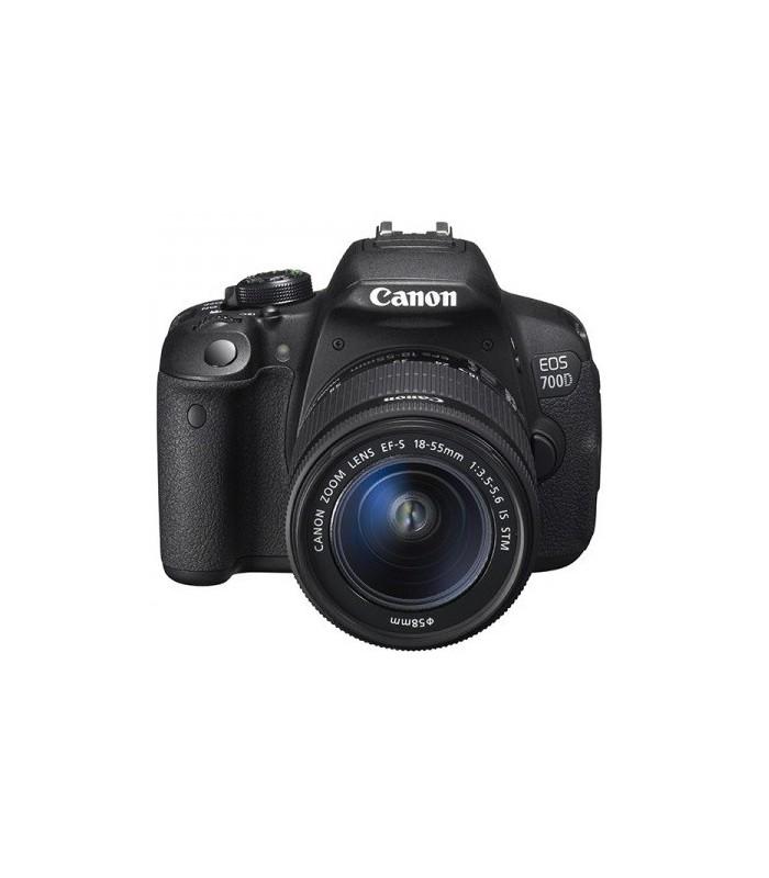 دوربین دست دوم کانن مدل EOS 700D + 18-55 IS STM