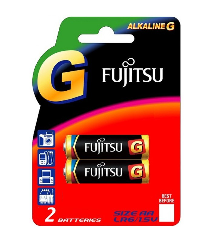 Fujitsu Alkaline G Batteries Batteries AA 2Blister