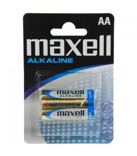 Maxell Alkaline Blister Packs Maxell LR6 AA 2pk
