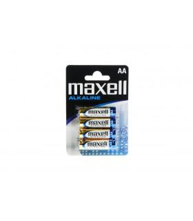 Maxell Alkaline Blister Packs Maxell LR6 AA 4pk