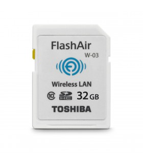 Toshiba FlashAir W-03 Wireless Memory Card 32GB
