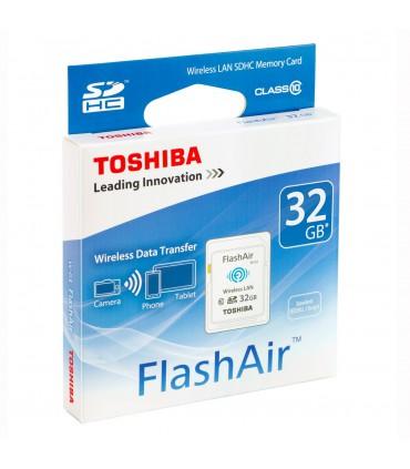 Toshiba FlashAir W-03 Wireless Memory Card 32GB