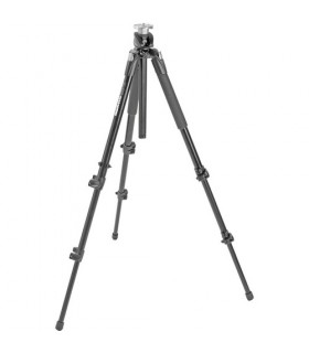 Manfrotto PROFESSIONAL ALUMINIUM TRIPOD BLACK WITHOUT HEAD 190XPROB