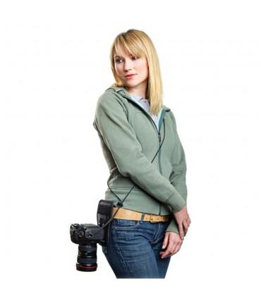 Cotton Carrier Side Holster for regular sized DSLR cameras