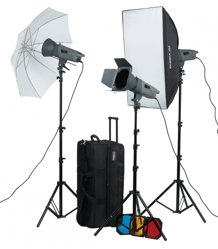 Visico Studio Flash VE-300 PLUS Novel Kit