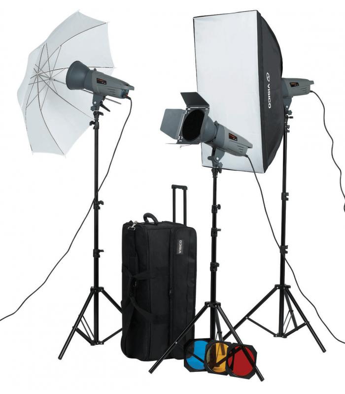 Visico Studio Flash VE-300 PLUS Novel Kit
