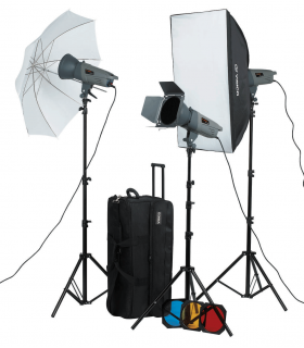 Visico Studio Flash VE-400 PLUS Novel Kit