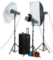 Visico Studio Flash VE-400 PLUS Novel Kit