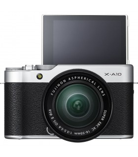 Fujifilm X-A10 Mirrorless Digital Camera with 16-50mm Lens