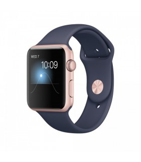 ساعت هوشمند اپل واچ سری ۲ (Apple Watch S2 RoseGold 42mm Blue)