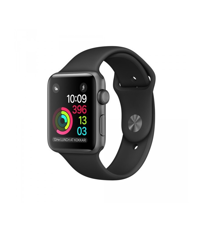 ساعت هوشمند اپل واچ سری ۲ (Apple Watch S2 SpaceGray 42mm Black)