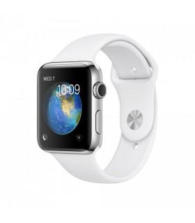 ساعت هوشمند اپل واچ سری ۲ (Apple Watch S2 Steel 42mm White)