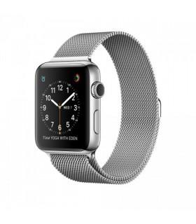 ساعت هوشمند اپل واچ سری ۲ (Apple Watch S2 Steel 42mm Milanese Loop)