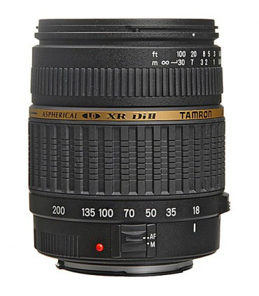 Nikon D5000 Digital SLR Camera With Tamron 18-200mm f3.5-6.3 XR Di-II USED