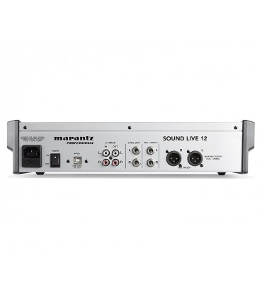 Marantz Professional Sound Live 12 - 12Channel 2-Bus Tabletop Mixer with USB