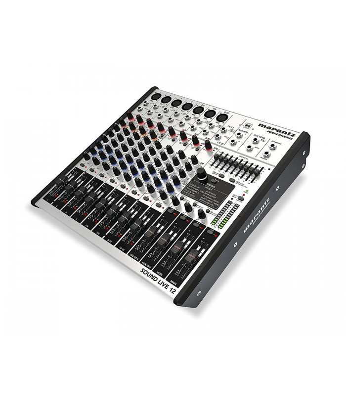 | Marantz Professional Sound Live 12 - 12Channel 2-Bus Tabletop Mixer with USB
