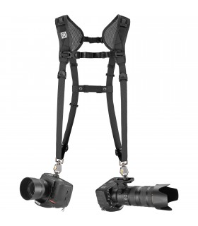 بند دوربین BlackRapid مدل Double Slim Breathe Camera Harness