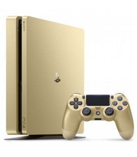 کنسول بازی سونی PS4 Slim ظرفیت 1 ترابایت طلایی - Region 1 | 2015B