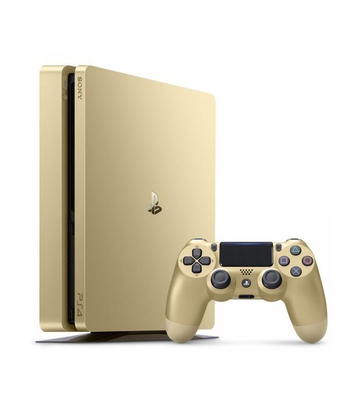 کنسول بازی سونی PS4 Slim ظرفیت 1 ترابایت طلایی |