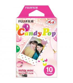 کاغذ عکس فوجیفیلم instax mini مدل Candy Pop (ده برگ)