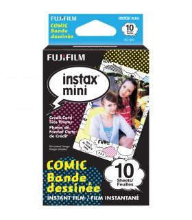 کاغذ عکس فوجیفیلم instax mini مدل Comic (ده برگ)