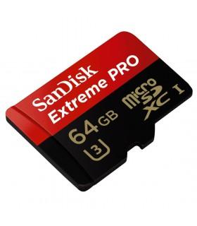 کارت حافظه 64 مگابایتی Micro SDXC Sandisk 1 مدل Extreme Pro V30