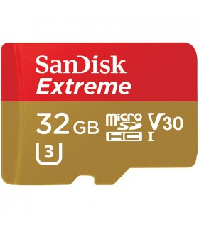 SanDisk 32GB Extreme UHS-I microSDHC (U3) - SDSQXVF-032G