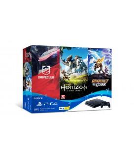 کیت کنسول بازی سونی PS4 Slim 500GB به همراه 3 بازی