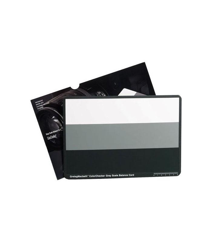 کارت خاکستری و تطبیقدهنده رنگی X-rite COlorCheker GREYSCALE