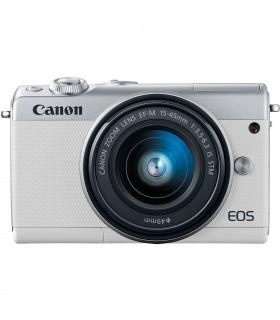 دوربین Mirrorless کانن مدل Canon EOS M100 با لنز 45-15 میلیمتر