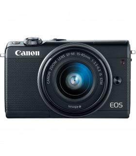 دوربین Mirrorless کانن مدل Canon EOS M100 با لنز 45-15 میلیمتر و 200-55 میلیمتر