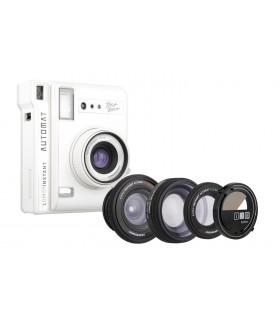 دوربین چاپ سریع Lomo مدل Automat طرح Bora Bora و کیت سهتایی لنز