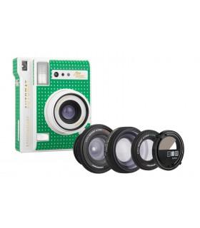 دوربین چاپ سریع Lomo مدل Automat طرح Cabo Verde Green و کیت سهتایی لنز