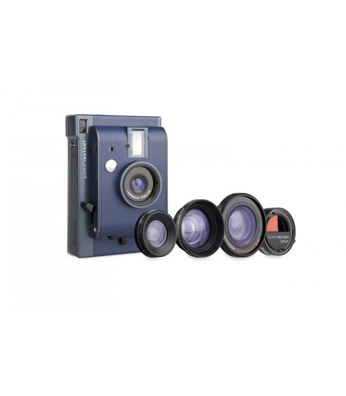 دوربین چاپ سریع Lomo مدل Instant به همراه کیت لنز طرح Reykjavik