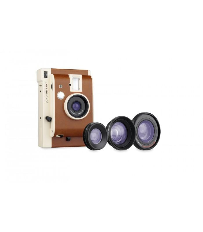 دوربین چاپ سریع Lomo مدل Instant به همراه کیت لنز طرح Sanremo