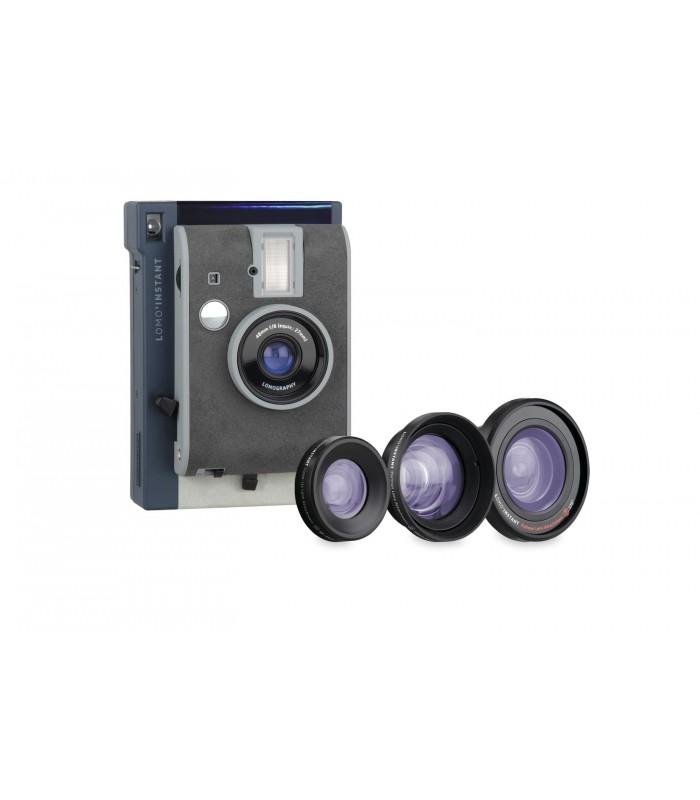 دوربین چاپ سریع Lomo مدل Instant به همراه کیت لنز طرح Lake tahoe