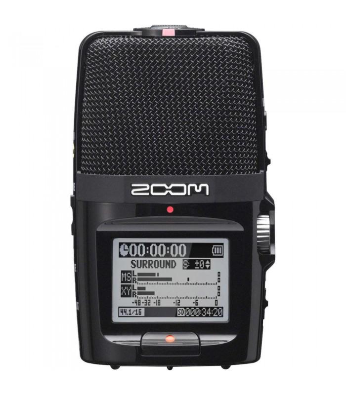 میکروفون و رکوردر پرتابل ZOOM مدل Zoom H2n Handy Recorder