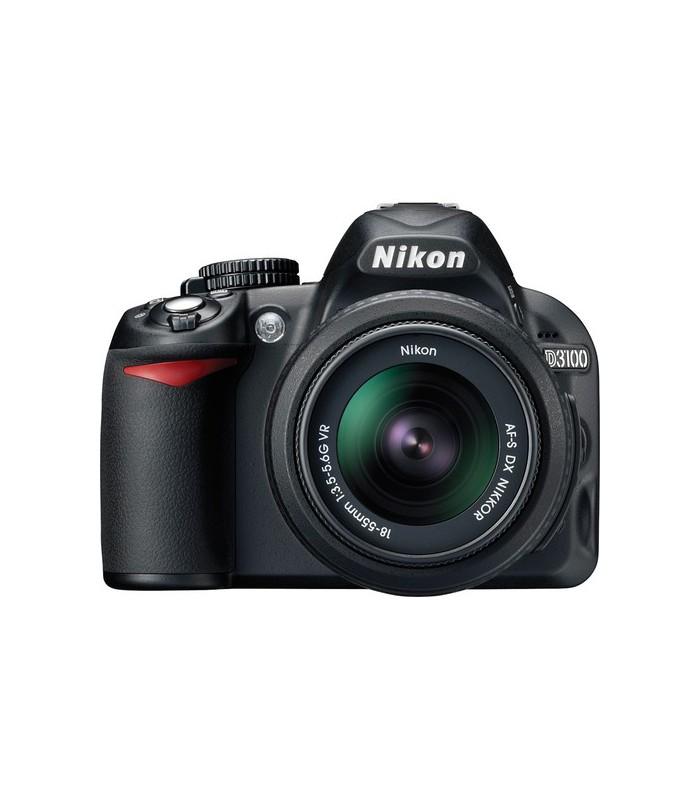Nikon D3100 + 18-55 VR