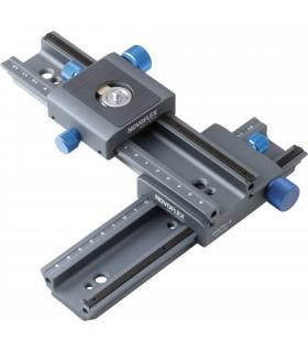 ریل فوکوس ضربدری Novoflex مدل CROSS-MC Double Rail Focusing Rack