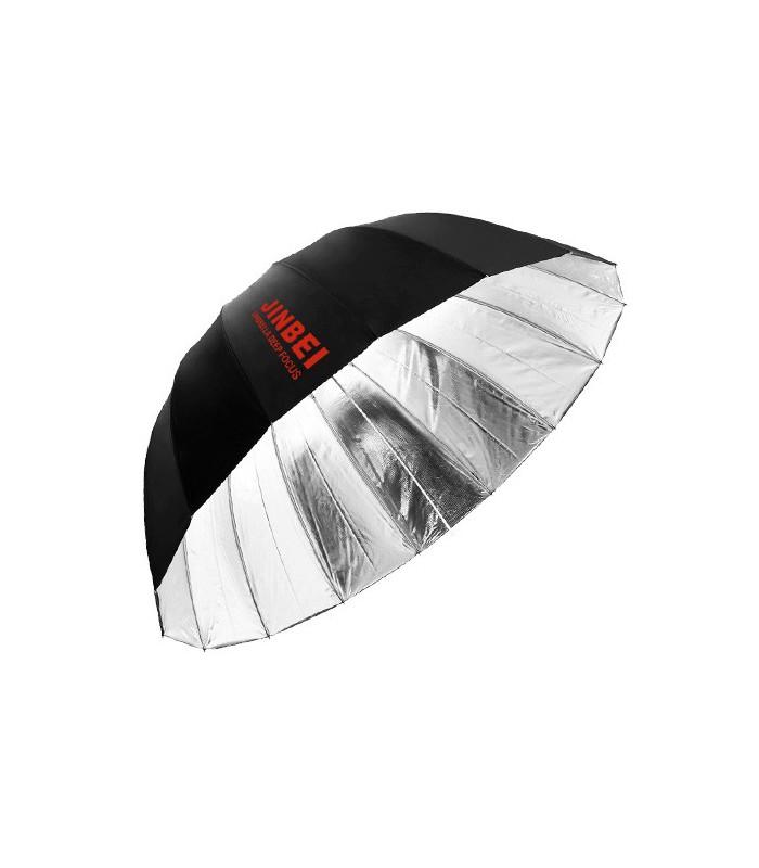 چتر عمیق Jinbei مدل Black-Silver Deep Umbrella دهانه ۱۳۰ سانتیمتر