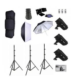 کیت فلاش استودیویی S&S مدل S&S 200J Studio flash Kit TB-200