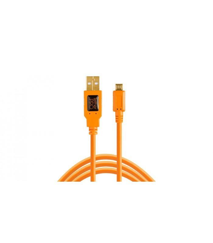 کابل TetherTools- تبدیل USB 2.0 به USB Micro-B (5 Pin)