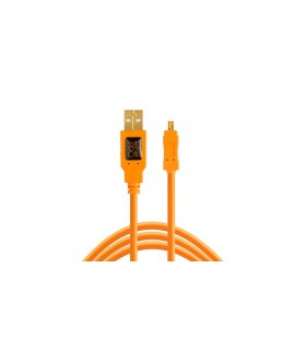 Tether Tools USB 2.0 Type-A Male to Mini-B 8-Pin CU8015