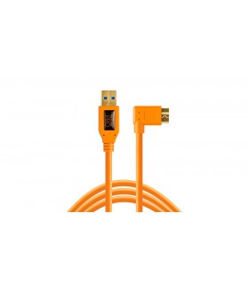Tether Tools USB 3.0 Type-A to Micro B Right Angle Cable CU61RT15