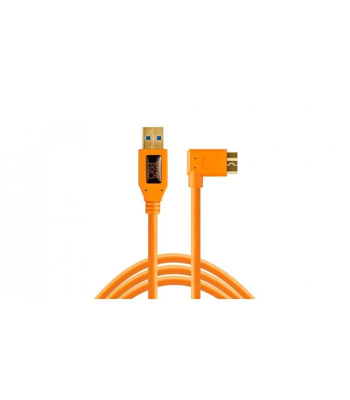 کابل TetherTools- تبدیل USB 3.0 به USB-B Right Angle
