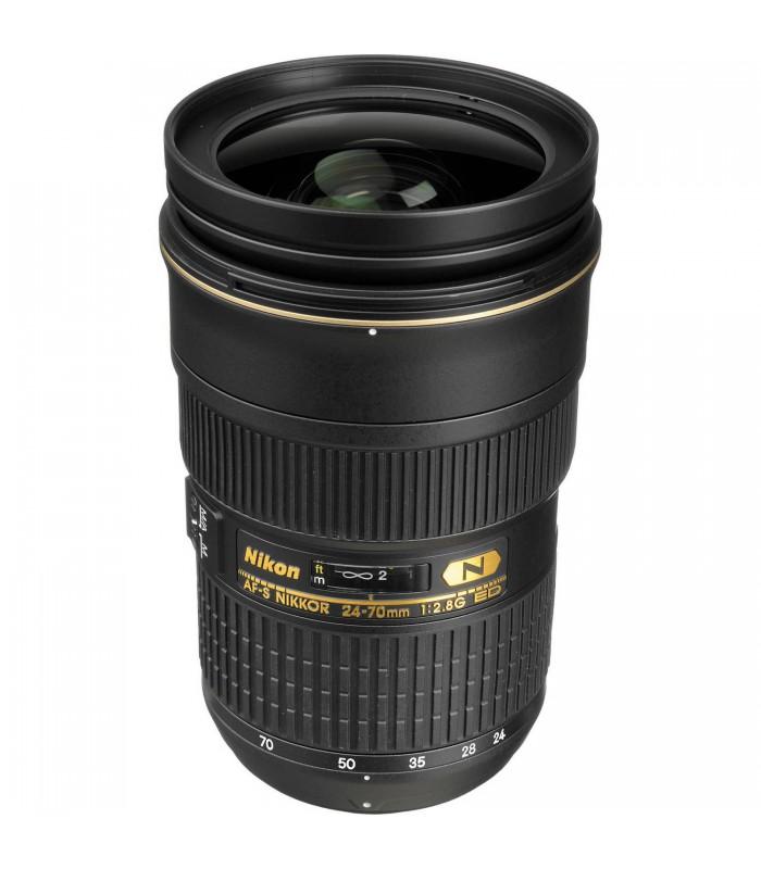لنز دست دوم نیکون AF-S NIKKOR 24-70mm f/2.8G ED