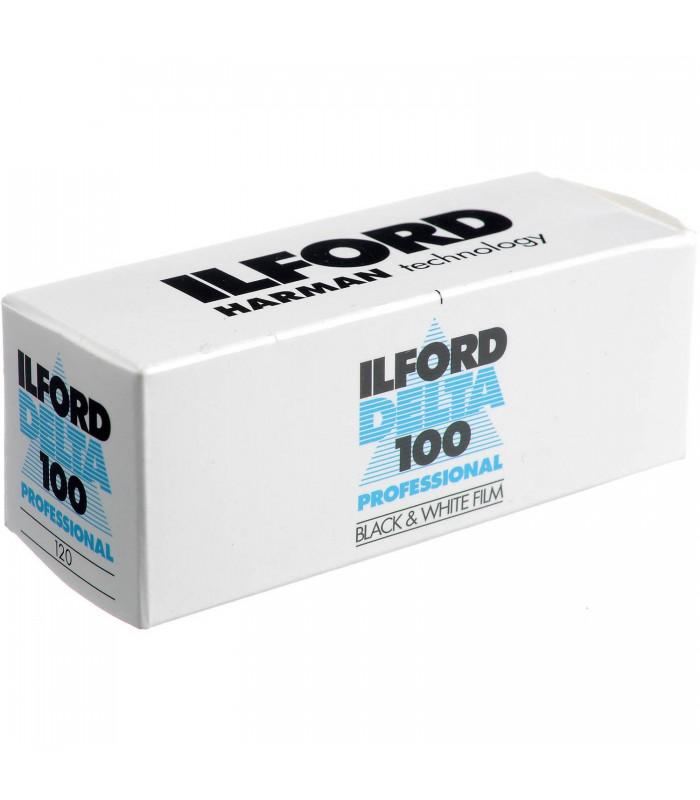 فیلم نگاتیو 120سیاه و سفید Ilford مدل Delta 100