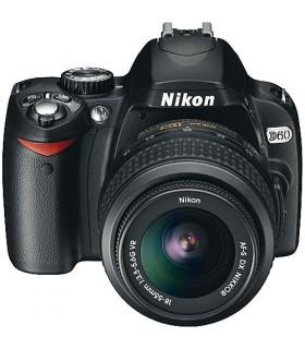 دوربین دست دوم Nikon مدل D60 به همراه لنز 18-55mm VR Lens