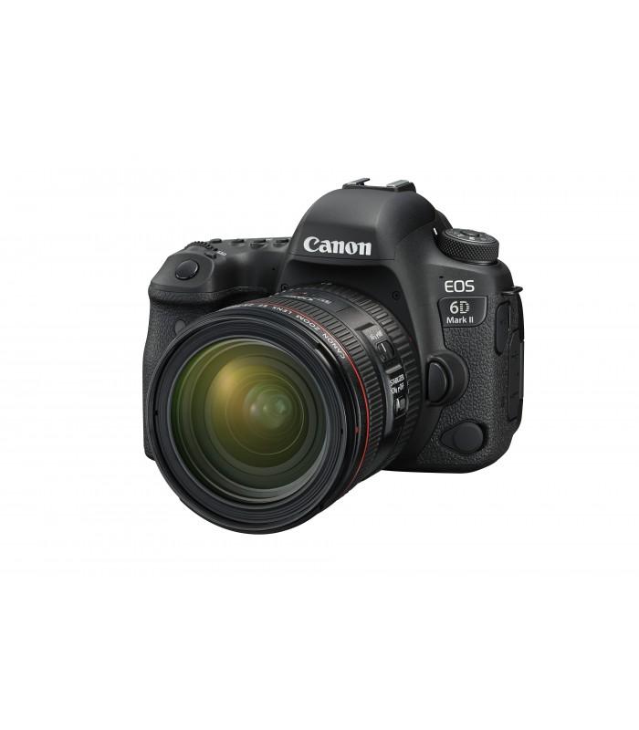 دوبین Canon مدل EOS 6D Mark II به همراه لنز EF 24-70mm F4L IS USM